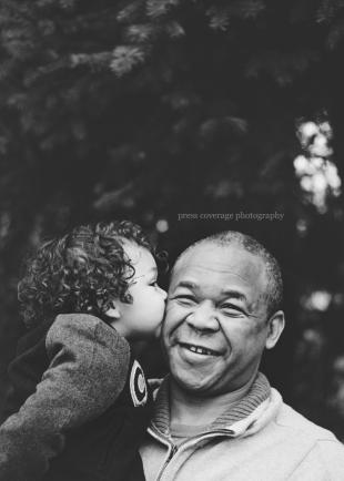 Grandpa and grandson.