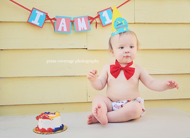 happy 1st birthday, little mister!